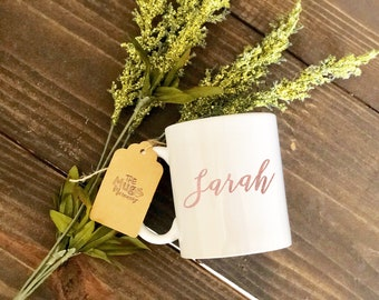 Personalized Name Mug, Personalized Coffee Cup, Custom Coffee Mug, Custom Mug, Coffee Cup, Coffee Mug, Custom Coffee Cup, Custom Coffee Mug