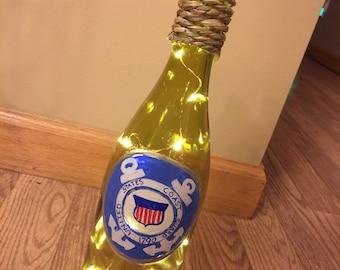 Military Themed Wine Bottles