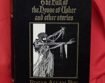 The Fall of the house of Usher and other stories By Edgar Allan Poe. 1986 Hardback volume.