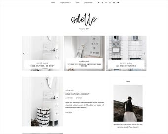 Odette | Responsive Blogger Template + Free Installation