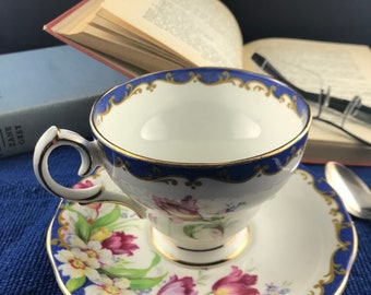 Bell Fine Bone China Cup and Saucer - Narcissus