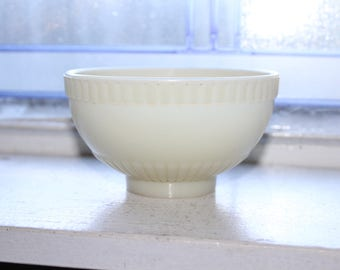 Vintage Light Shade White Milk Glass 1920s Art Deco Torchiere