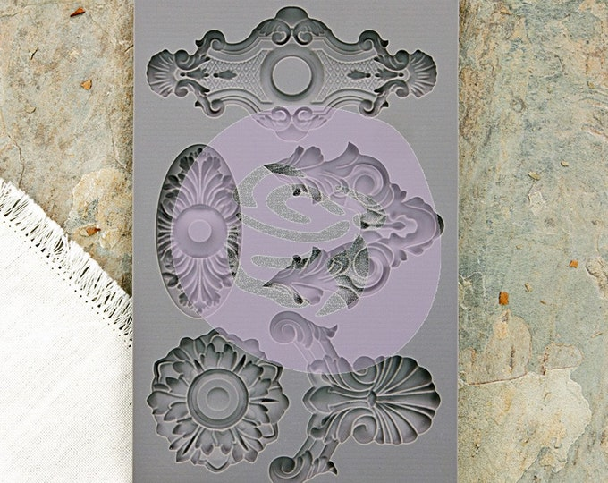 Iron Orchid Designs - Escutcheon II - Moulds