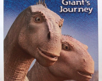 "New - Old Stock Walt Disney Dinosaur ""Giant's Journey"" Coloring and Activity Book - Random House"