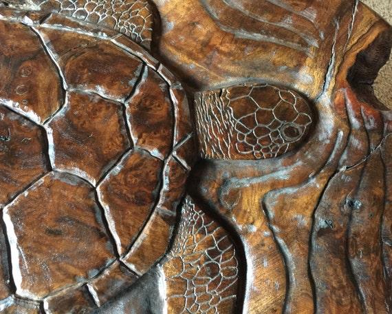 Sea Turtle Coffee Table - Sea turtle coffee table