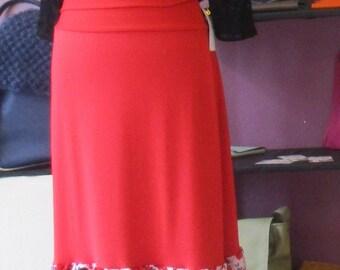 Flamenco skirt with Ruffles