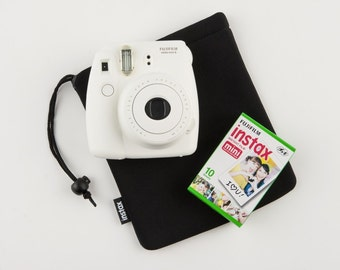 Instax Mini Case. Fujiflm Instax 8/7s/9 Camera Case Pouch / Bag Protective Case Pocket Fujifilm. Pink/Black/Blue