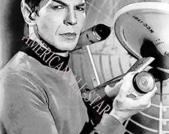 Rare Mr. Spock Star Trek Limited Edition 12 x 18 Print