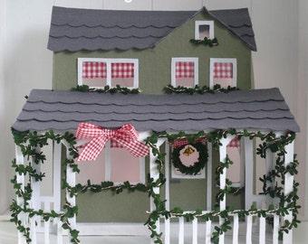 Kersthuis voor de Dickensmuizen