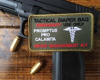 Tactical Diaper Bag Patch ~~Jungle Green~~~