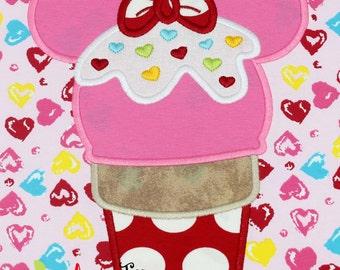 Ice Cream Mouse 2 Applique Design