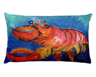 Long Lobster Pillow