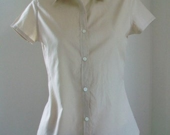 Ralph Lauren Women Cotton Blouse Size JP11 Medium.