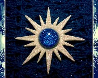 Mid-Century Modern Winter Sunburst