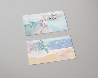 Sea Turtle - Beach Business Card