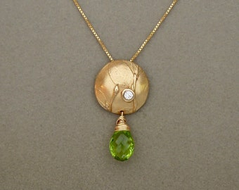 Green Fairy Necklace