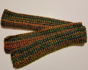 Large crocheted scarf