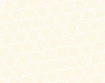 Lizzy House Fabric, Mini Pearl Bracelets, A-7829-L Sand, Andover, 100% Cotton, #227