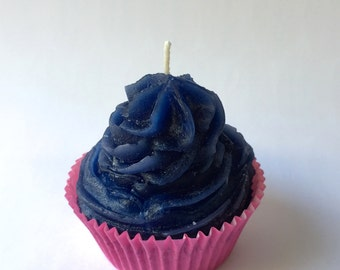 Blueberry Cupcake Soy Candle