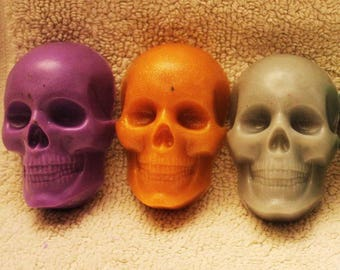 Skull soap Halloween soap Day of the Dead soap Halloween party favors Gothic soap Scary soap Skeleton soap Decorative Halloween