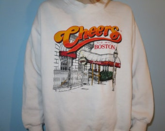 1995 CHEERS crewneck sweatshirt