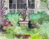 Garden Painting - Print f...