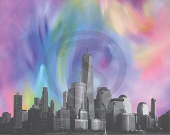 NYC skyline download