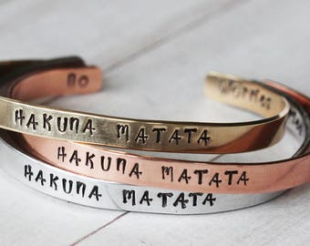 Customized bracelet, personalized bangle, choose your wording, personalized jewelry, hand stamped, bespoke gift,