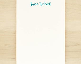 CRAFT Personalized Notepad - Classic Modern Letterhead