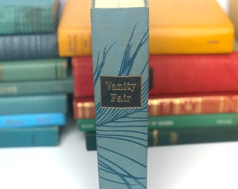 Vintage Vanity Fair book by William Makepeace Thackeray Heritage Press 1968