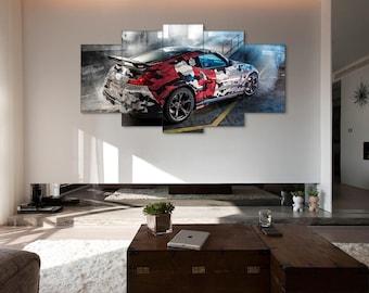 Nissan 370z Nismo, Car print, 370z print, Nissan wall art, 370z canvas, Nissan canvas, Nissan Nismo canvas, Sport car print, Nismo canvas