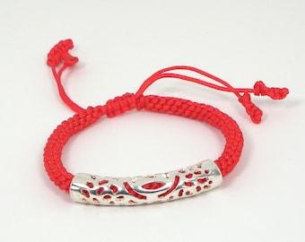 Money-bringer Red String Bracelet