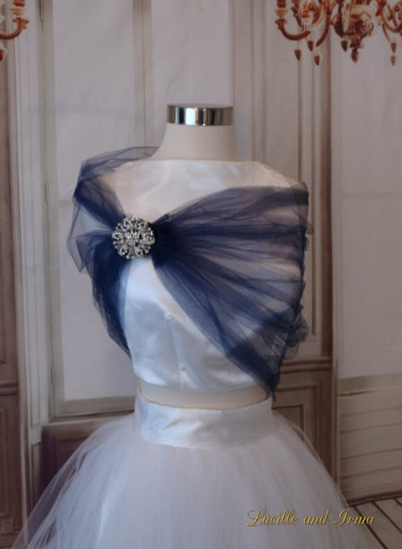 Tulle Evening Wrap