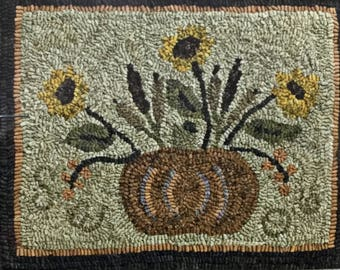 Indian Summer, Rug Hooking Pattern