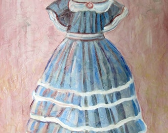 1865 Dress on Hanger fine art photograph print