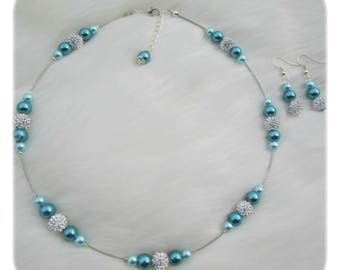 turquoise wedding set