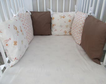Pillow pet Crib bumper
