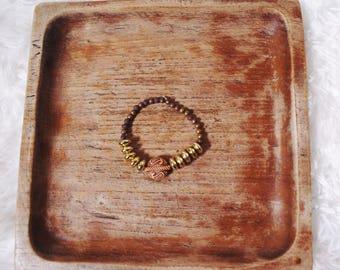 Gold Mixed Bracelet