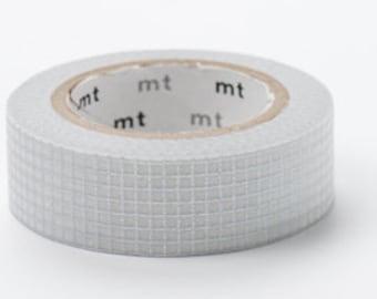 grille de ruban adhésif de masquage - ligne argent - MT