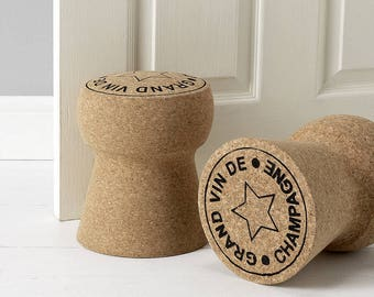 Giant Champagne Cork Door Stop ' Grand Vin de Champagne'