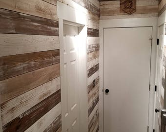 Shiplap Wall Planks - Mountain Cabin
