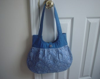 Fashionable hobo boutique handbag