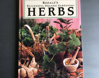 Rodales Successful Organic Gardening Vintage Book Hardcover