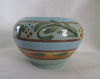 Vintage Hartrox Castleford Stoneware Art Pottery Bowl by Hartleys of Yorkshire