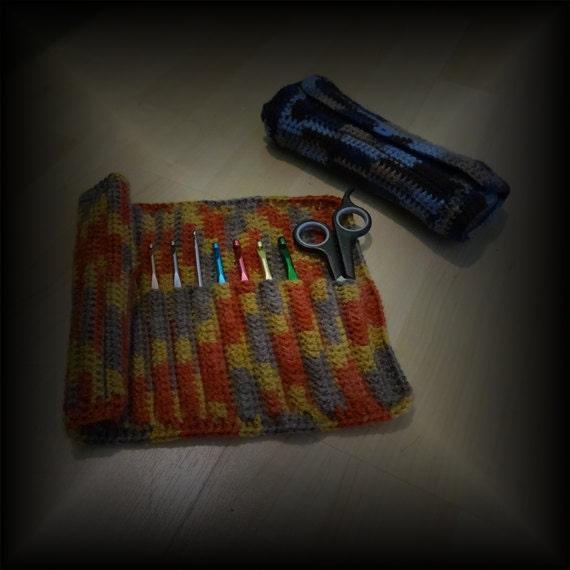 How to Crochet a Crochet Hook Holder Crochet Pattern