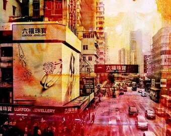 HONG KONG Crossing I by Sven Pfrommer - Artwork is ready to hang