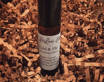 Cold and Flu Aromatherapy Rollon