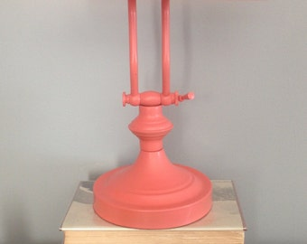 New Lease on Light Coral Desk Lamp
