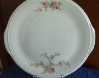 Antique  KNOWLES TAYLOR KNOWLES Round Serving Platter
