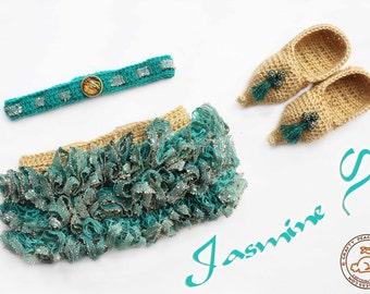 Jasmine Girl Tutu Set